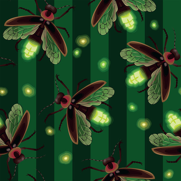 Bug Fabric, Firefly Fabric, 1587 - Beautiful Quilt