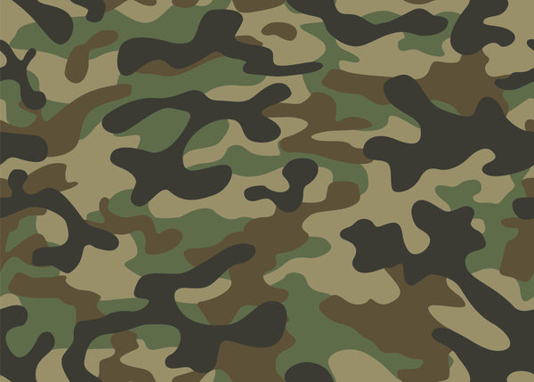 Military Fabric, Green Camouflage Fabric, Cotton or Fleece 2261 - Beautiful Quilt
