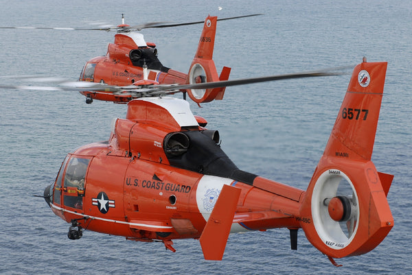 Military Fabric, Coast Guard Fabric Helicopters 1141