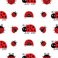 Bug Fabric, Very Cute Lady Bugs, on Cotton or Fleece 1584 - Beautiful Quilt