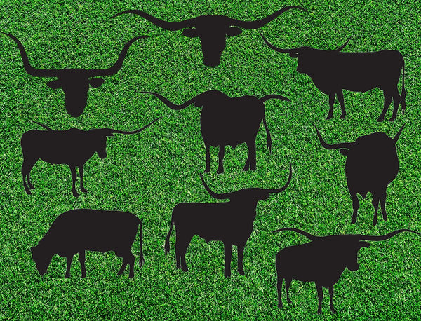 Western Fabric, Farm Fabric, Cow Fabric, Longhorn Cow Fabric 1280