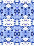 PKU Awareness Fabric aka Phenylketonuria, blue double print 1121 - Beautiful Quilt