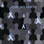 Cancer Fabric, Prostate Cancer, Prostate Awareness Ribbon 801 - Beautiful Quilt