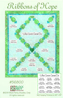 Cancer Fabric, Ribbons of Hope Quilt Pattern, 2195 - Beautiful Quilt