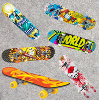 Skateboard Fabric, Brightly Colored Skateboard Fabric, Cotton or Fleece 1748 - Beautiful Quilt