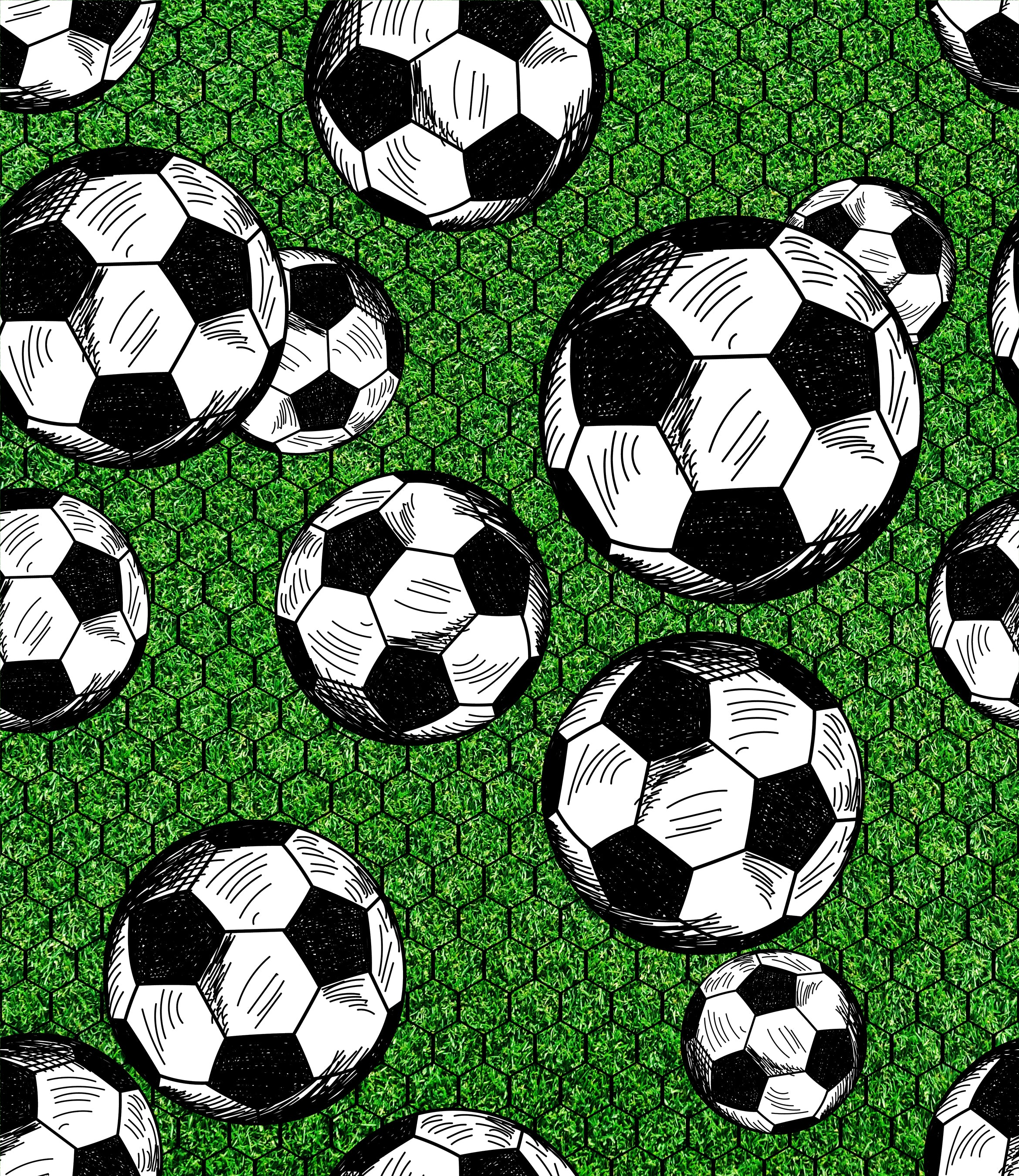 98cb9c21b Sports Fabric, Soccer Balls and Net, Cotton or Fleece 1633 – Beautiful Quilt