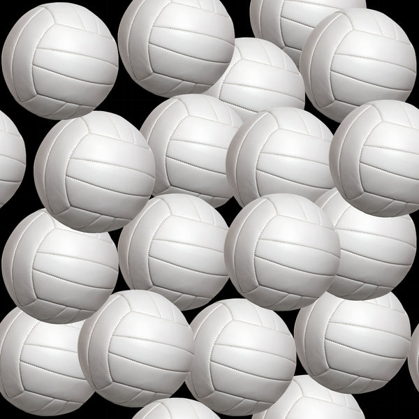 Sports Fabric, Volleyball Fabric, Balls, Cotton or Fleece 1930 - Beautiful Quilt
