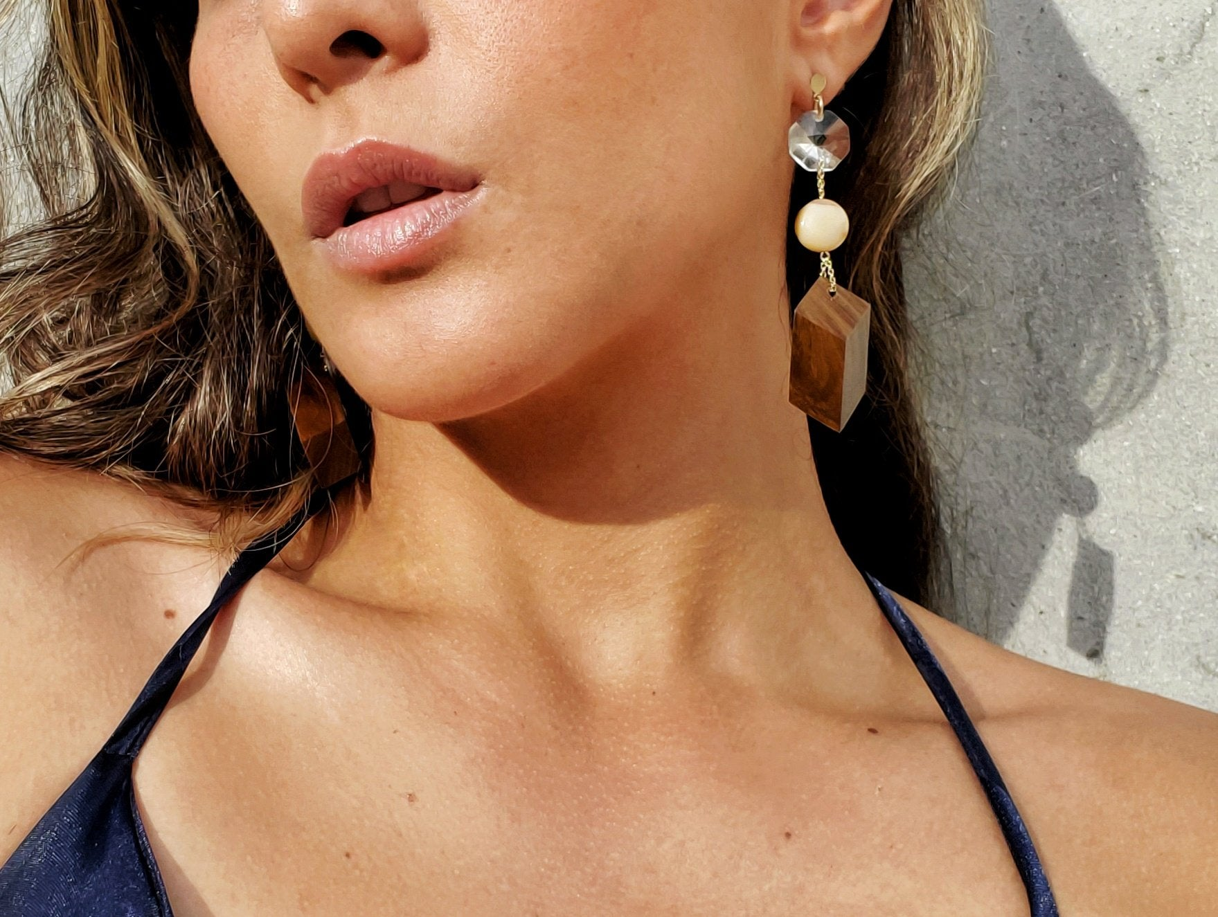 Guayacán Star Earrings