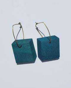 Jade Mininalist Joy Earrings