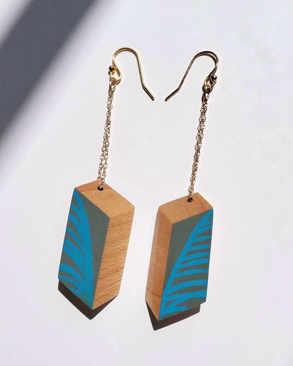 Blue Palmero Earrings