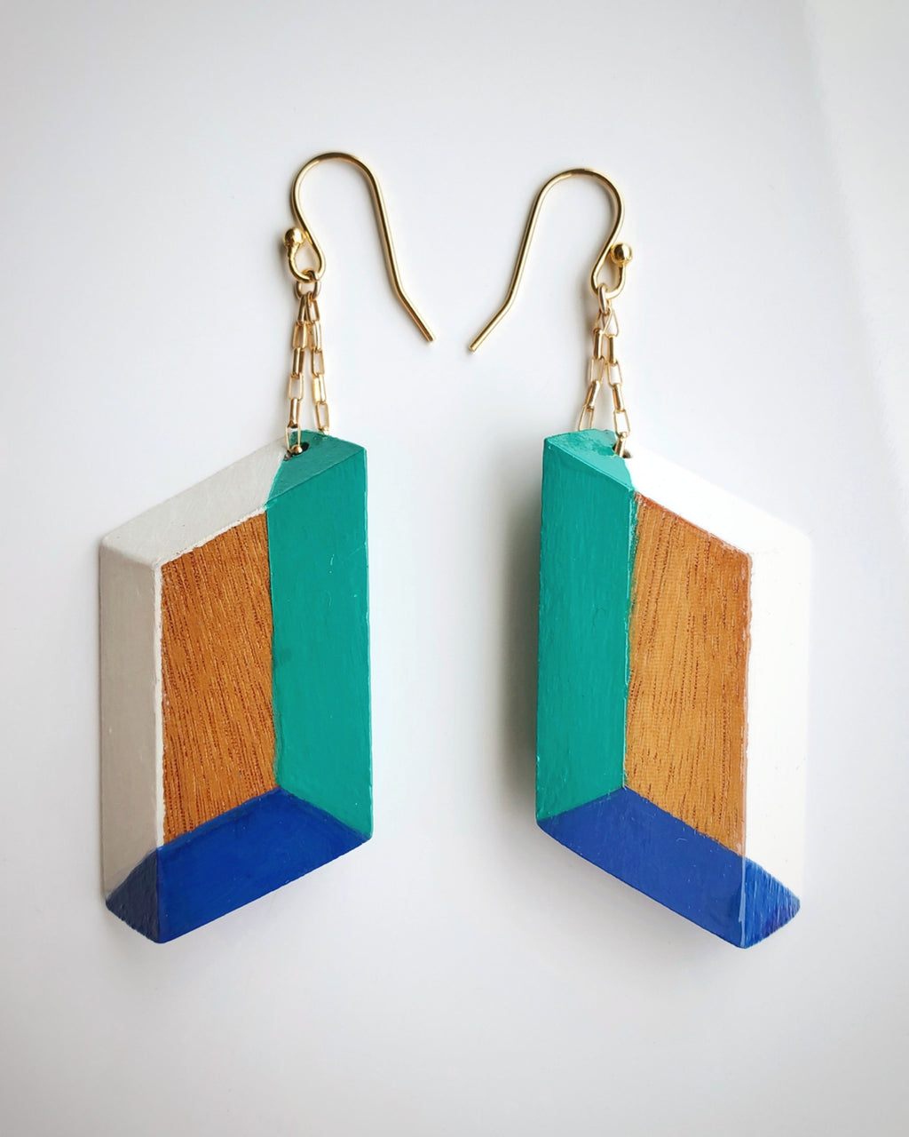 WBG Earrings by Ma Nong