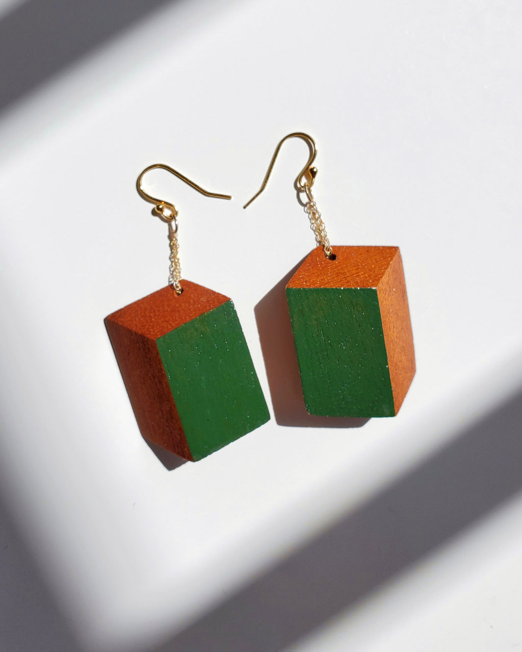 Classic Pana Green Earrings