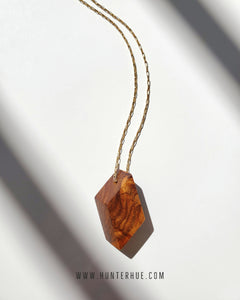 Guayacán Pendant Necklace