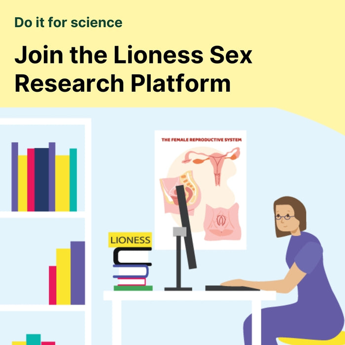 Join the Lioness Sex Research Platform