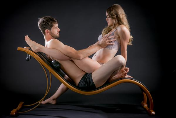 Petrilla Archer Bow Sexchair Demonstration