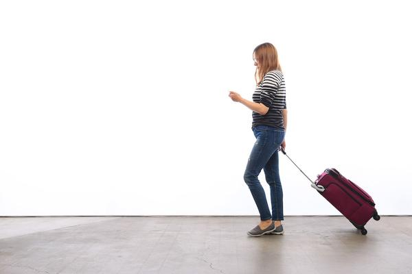 Woman traveling with sex toys