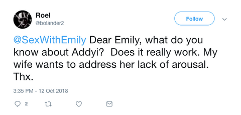 Sex With Emily Question 1 Addyi