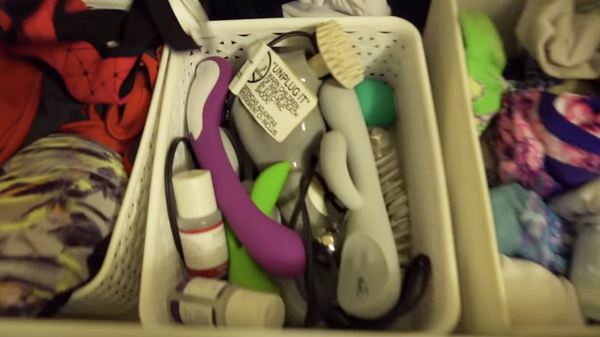 Budding sex toy collection
