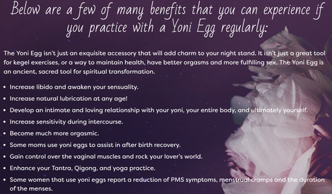 Benefits of Yoni Eggs