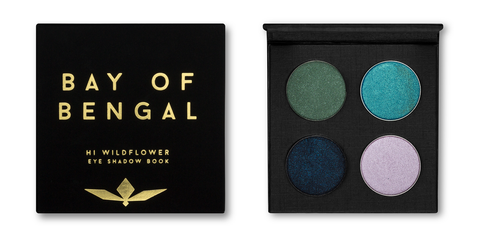 Bay of Bengal - Hi Wildflower Eye Shadow Book - gift ideas for your girlfriend from women-owned businesses
