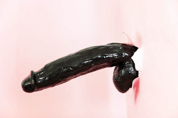 Dildo Fruit in Pink Background