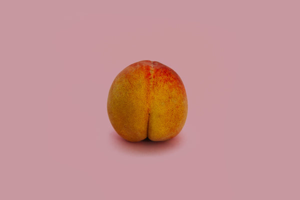 Peach pink background