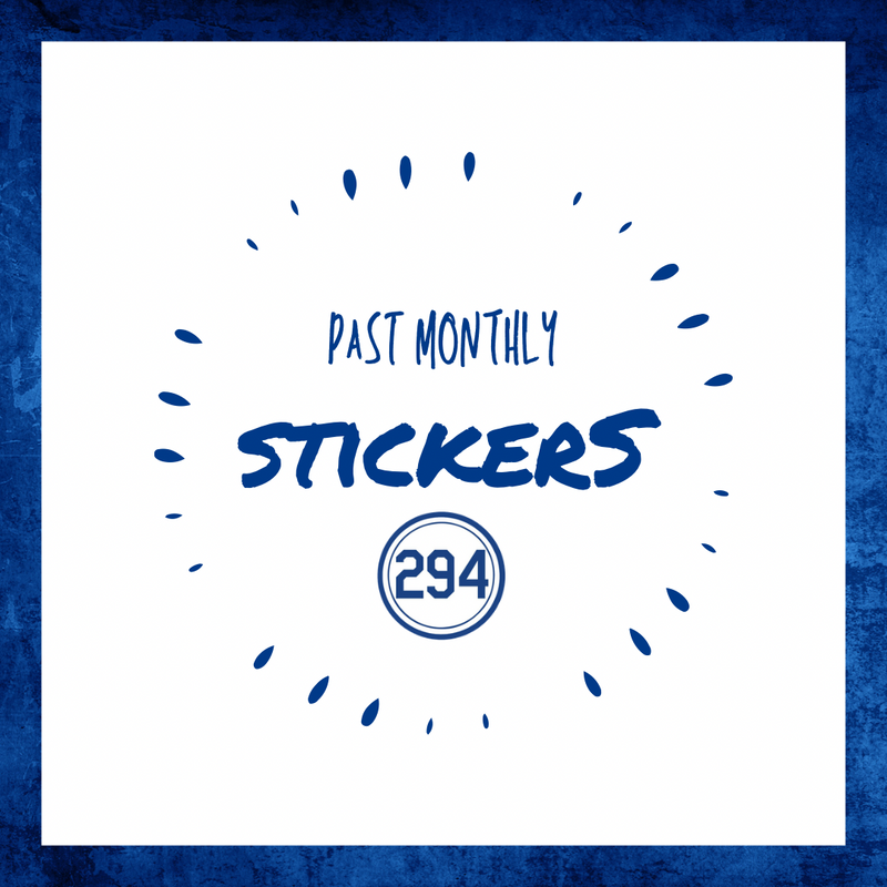 Sticker Subscription - Past Months Available For Single Purchase