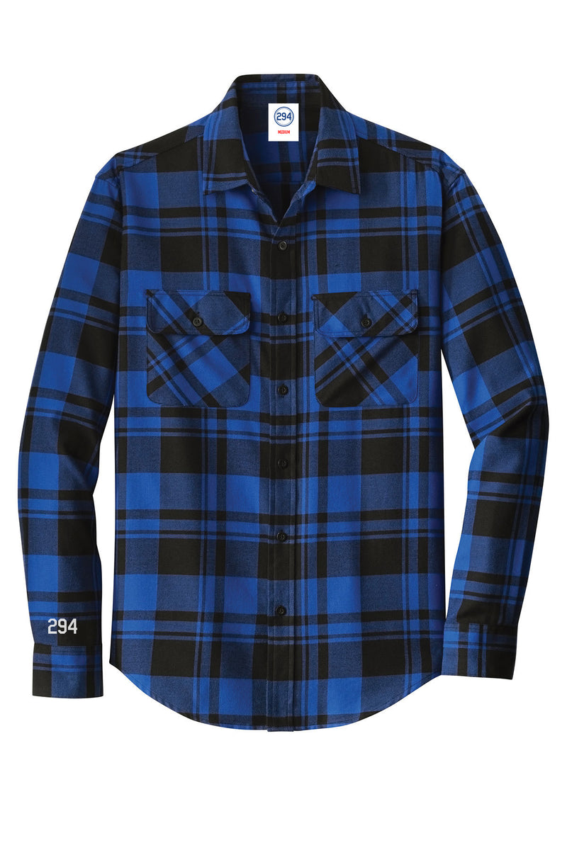 Blue Flannel - Mens