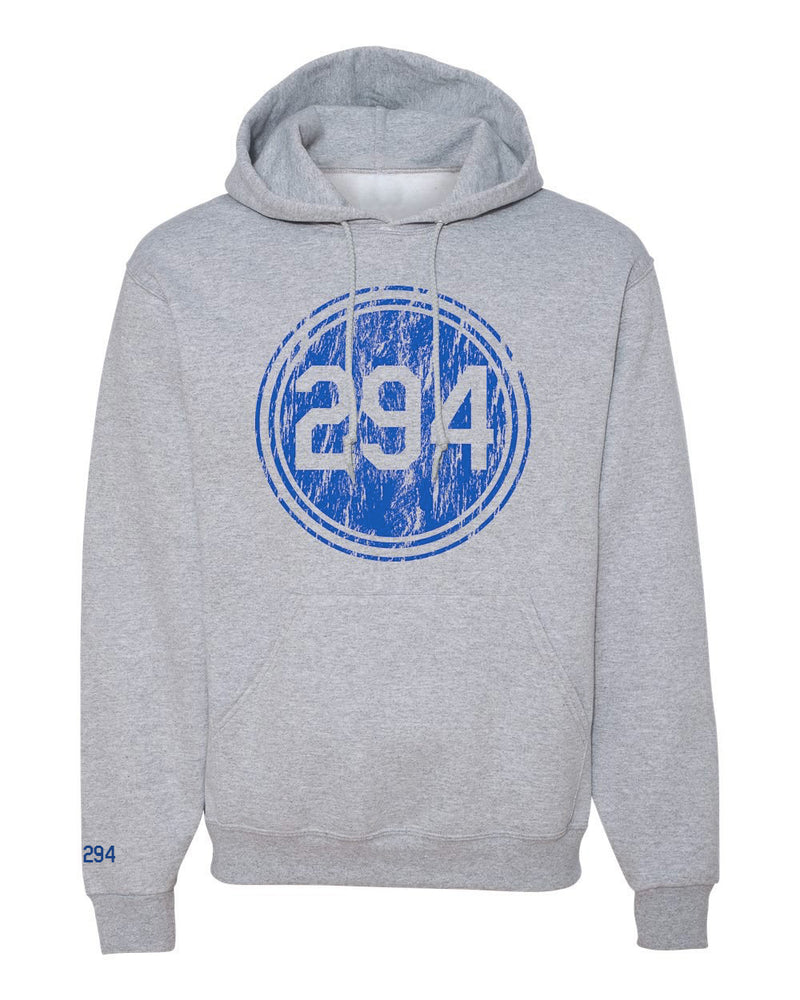 Distressed P294 Pullover Sweatshirt