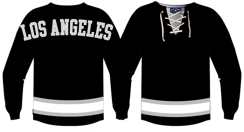 Black Los Angeles | Hockey Spirit Jersey
