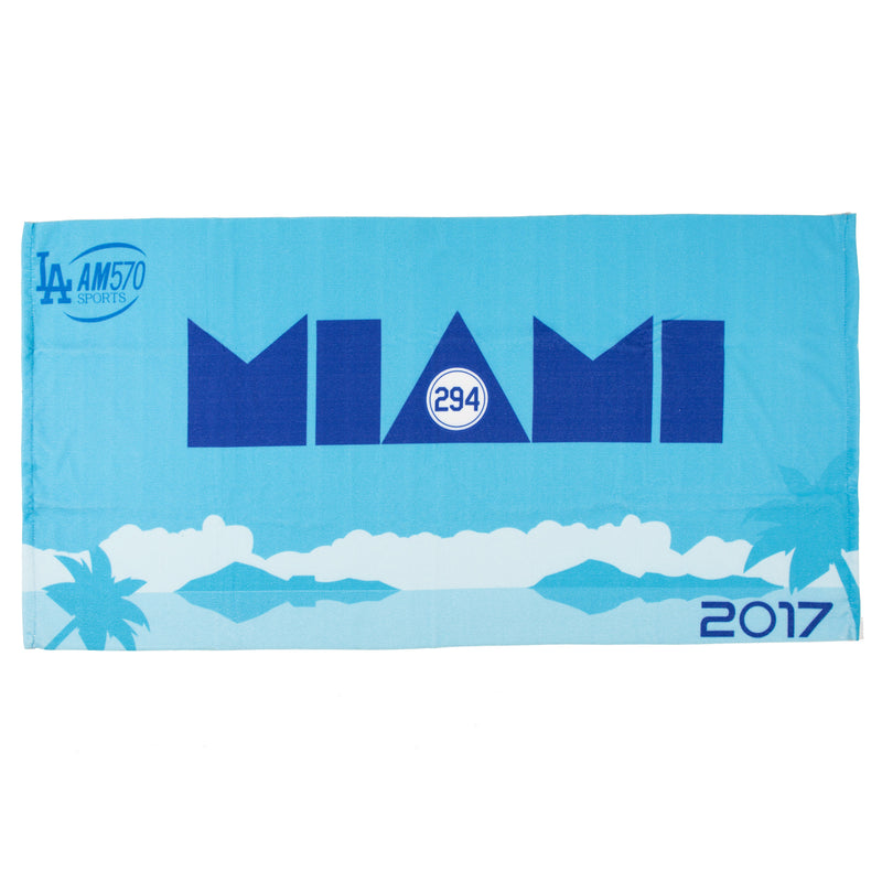 P294 Beach Towels-Miami Takeover