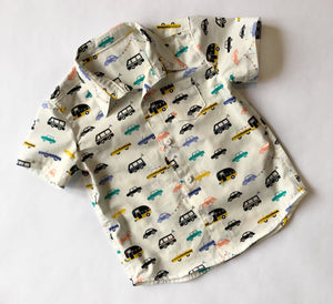 Boys button up shirt