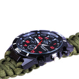 MULTIFUNCTIONAL 6 IN 1 PARA-CORD WATCH