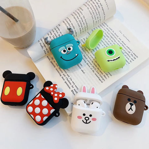Adorable Silicone AirPod Charging Cases