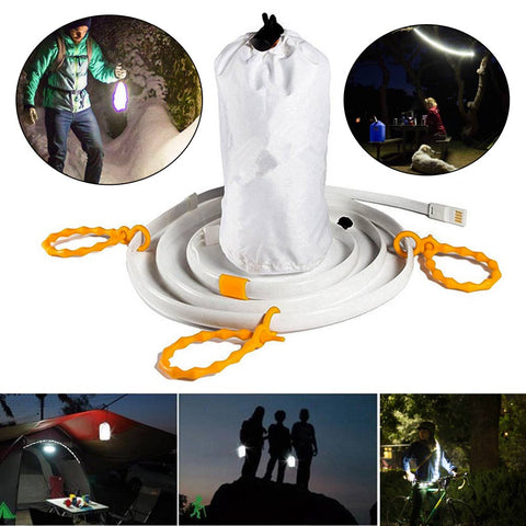 WATERPROOF 150CM USB LED ROPE LIGHTS