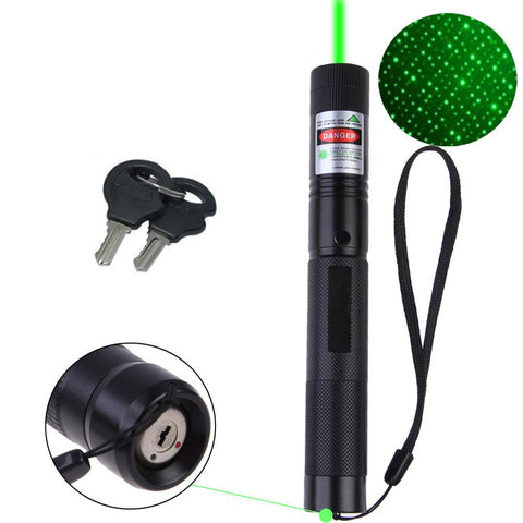 GREEN POINTING POWERFUL LASER STARS PEN