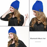HD STEREO BLUETOOTH, WIRELESS SMART BEANIE MUSICAL HEADSET WITH BUILT-IN MIC