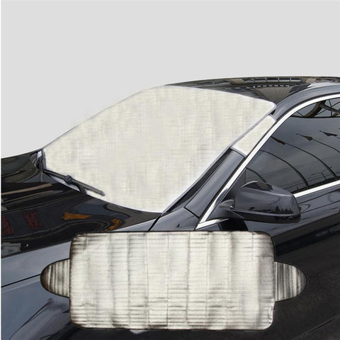 SMART WINDSHIELD COVER - ANTI-SUN, FROST AND SNOW PROTECTION