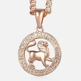 Luxury Zodiac Pendant Necklace