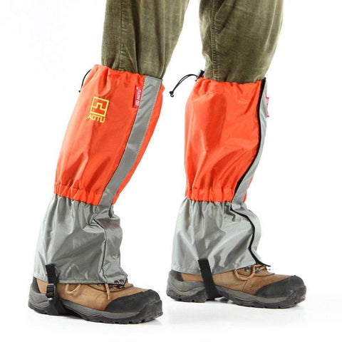 PAIR PROTECTIVE GAITERS FOR OUTDOORS - HIKING, SNOW, FISHING, HUNTING
