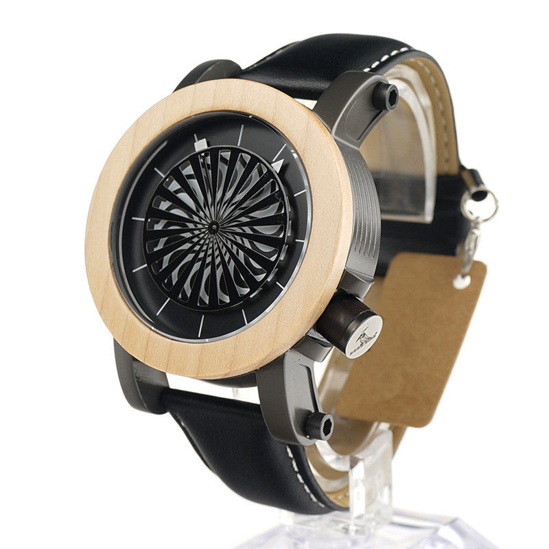 Luxury Waterproof Wheel Mechanical Watch - 55% OFF