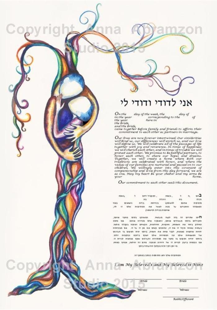 Original Love Tree Ketubah