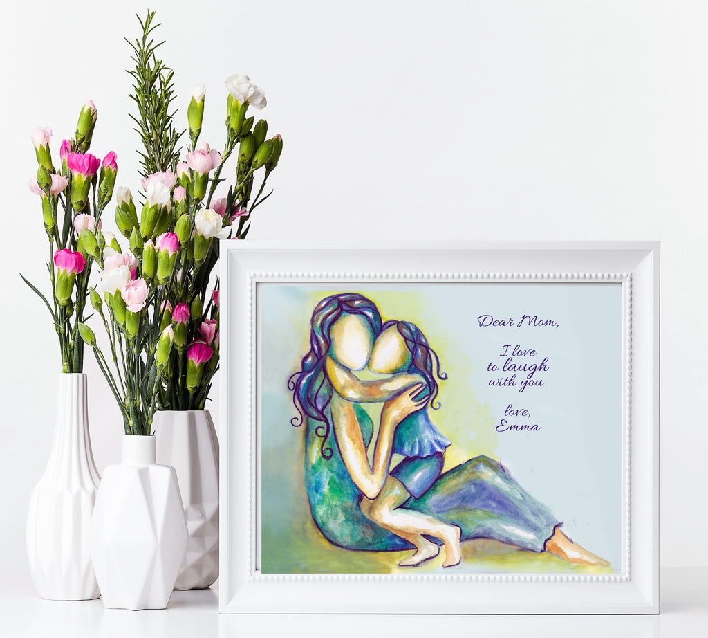 Mother Daughter Art Print