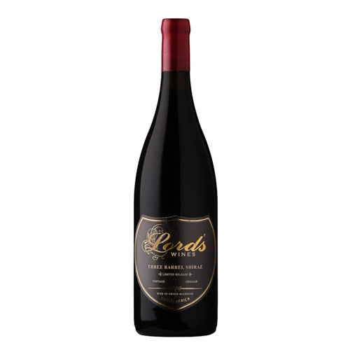 Lord's Three Barrel Shiraz (6/case) (R329/BOTTLE) Limited Release
