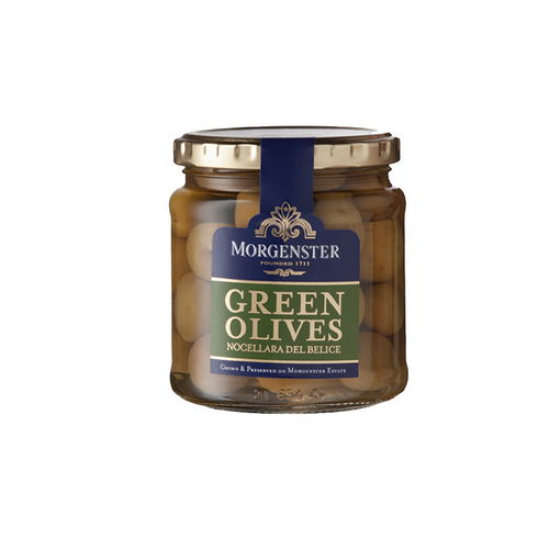 Morgenster Green Olives (Nocellara Del Belice) 290g (6/box) (R59/JAR)