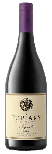Topiary Syrah 2016 (6/case) (R144/BOTTLE)