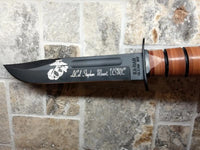 KA-BAR 1217 USMC Engraved Knife