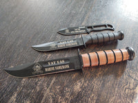 3d Assault Amphibian Battalion Engraved Ka-Bar 1217 Battalion