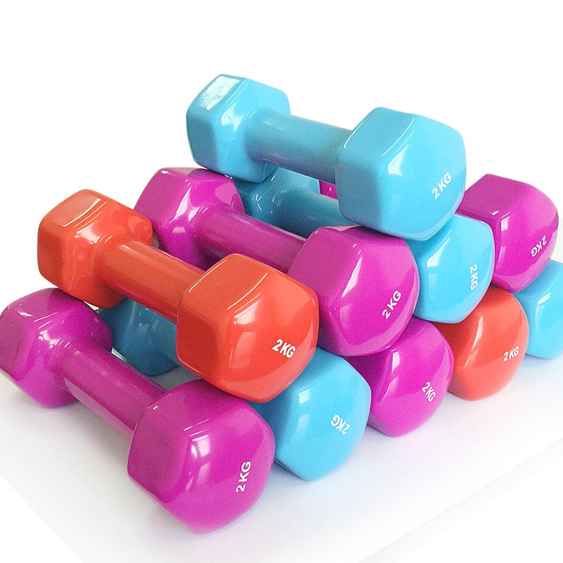 Plastic dip in dumbbell 1.5kg*2pcs