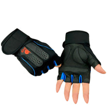 Sports Gym Gloves Half Finger Breathable Weightlifting Dumbbell Unisex  Size M/L/XL